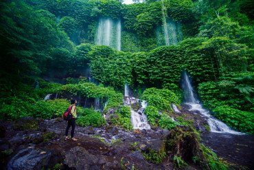 Where to see amazing waterfalls in Lombok